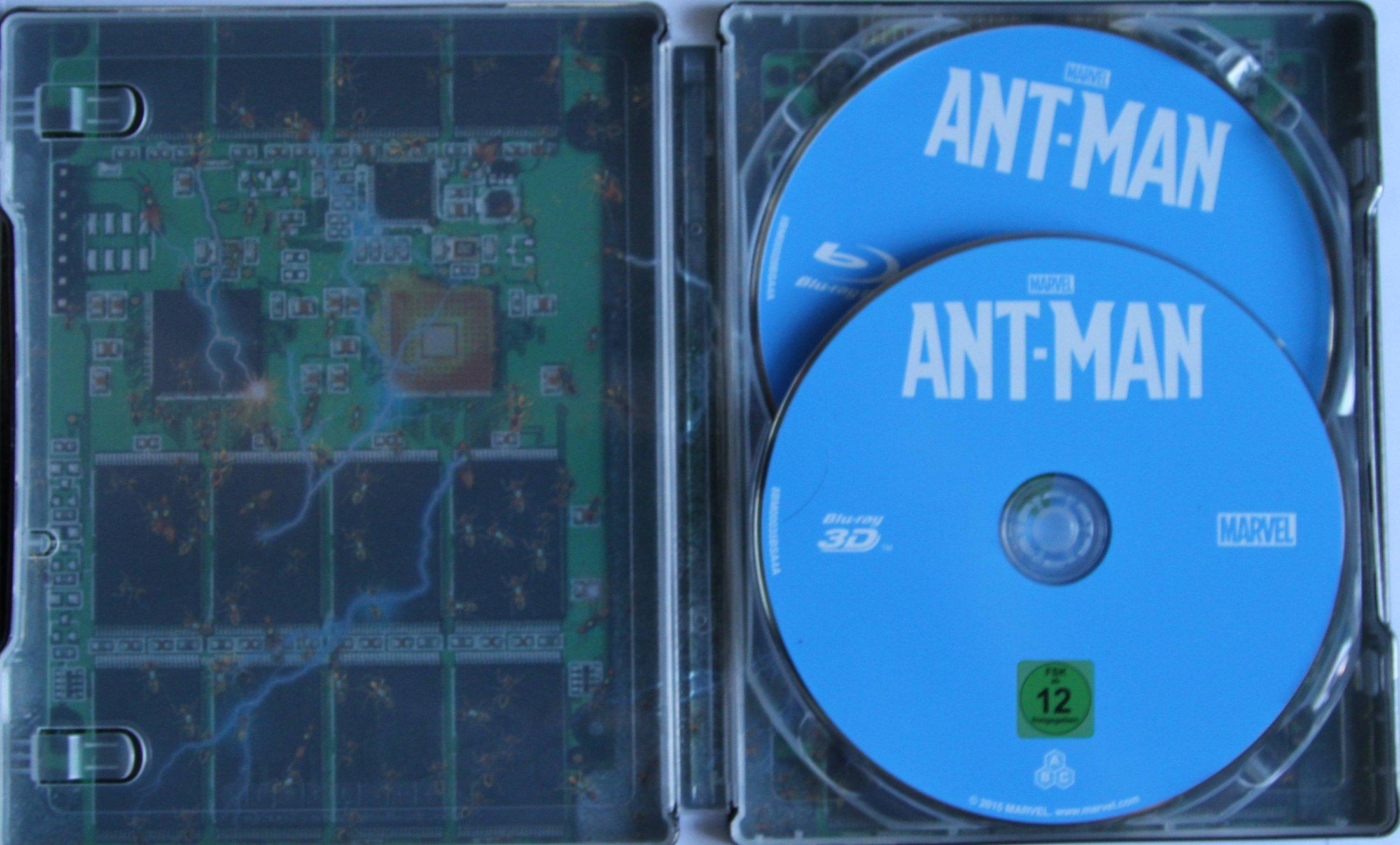 Ant-Man Steelbook Innen mit disk