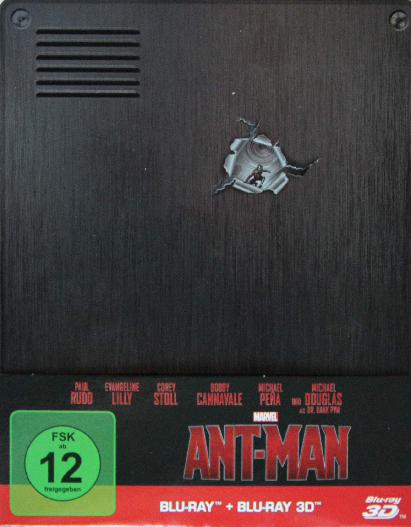Ant-Man Steelbook Paperback vorderseite