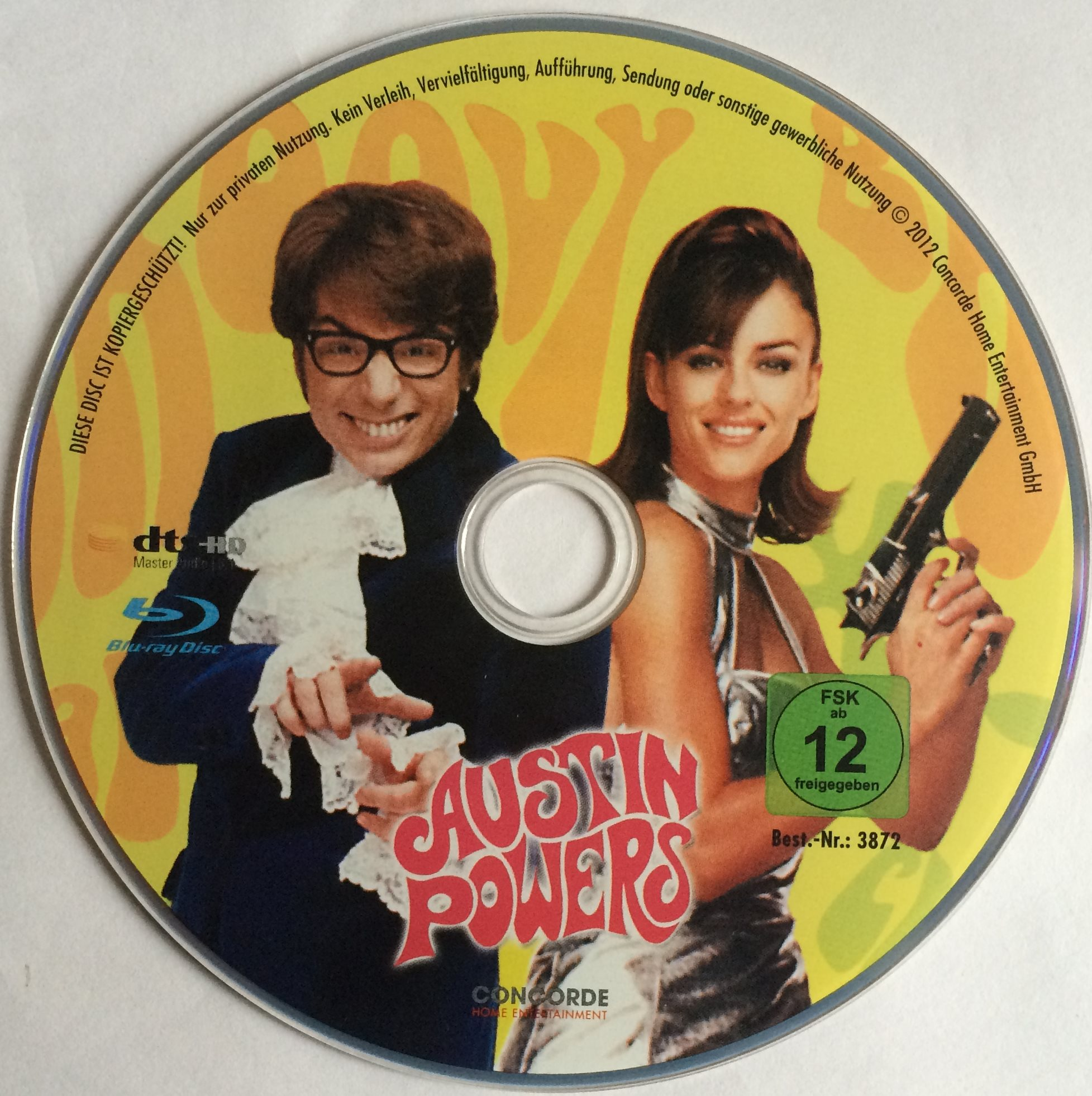 Austin Powers Disk
