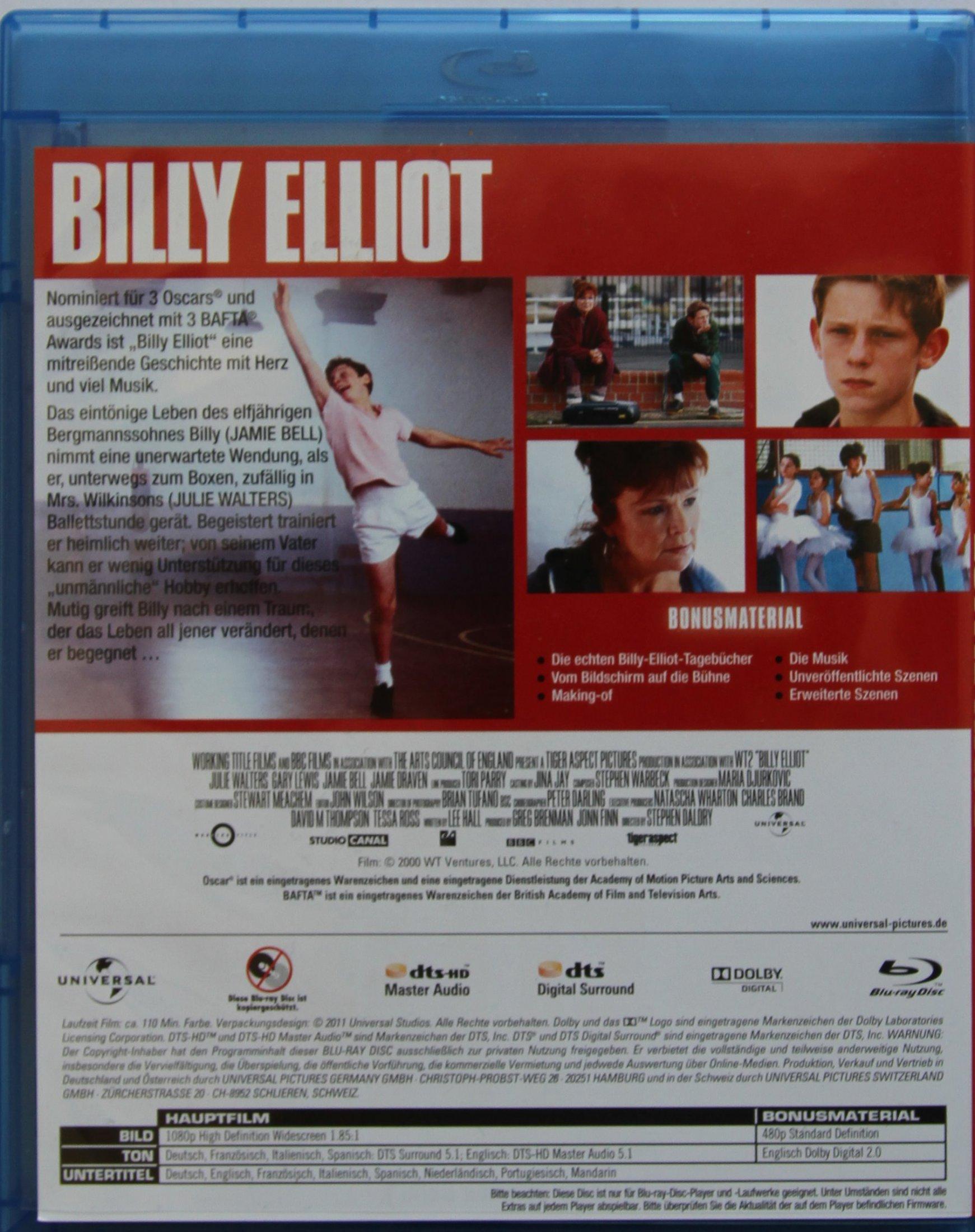 Billy Elliot Back