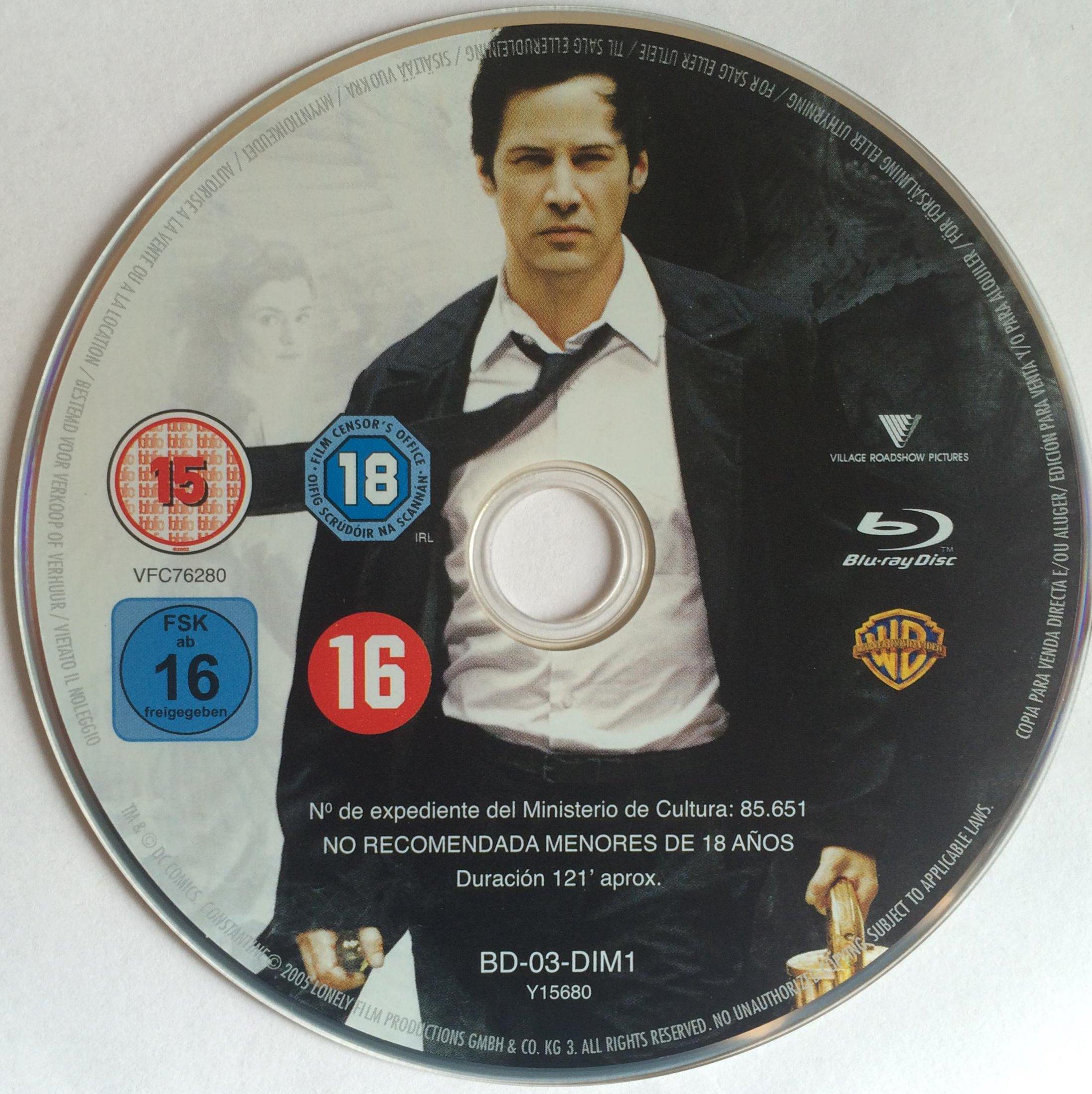 Constantine Disk