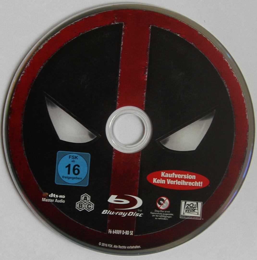 Deadpool Steelbook Disk
