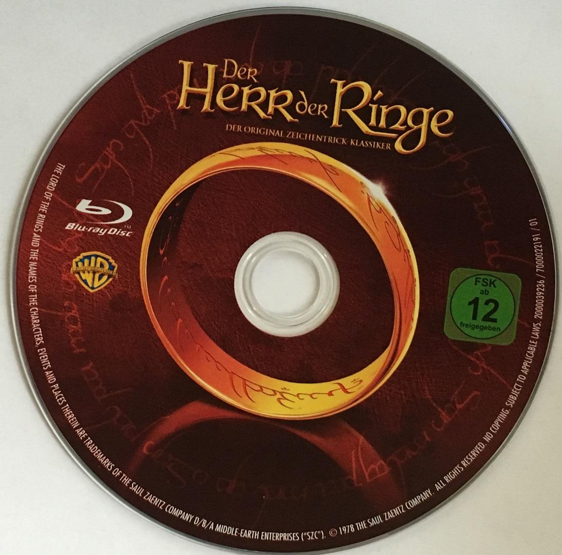 Der Herr der Ringe (1978) Disk