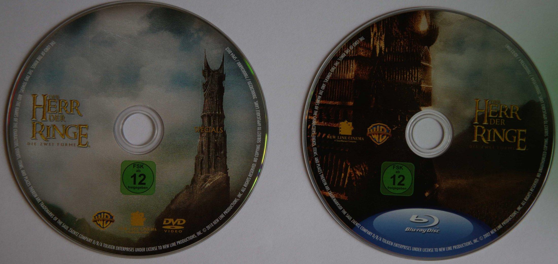 Der Herr der Ringe 2 Disks