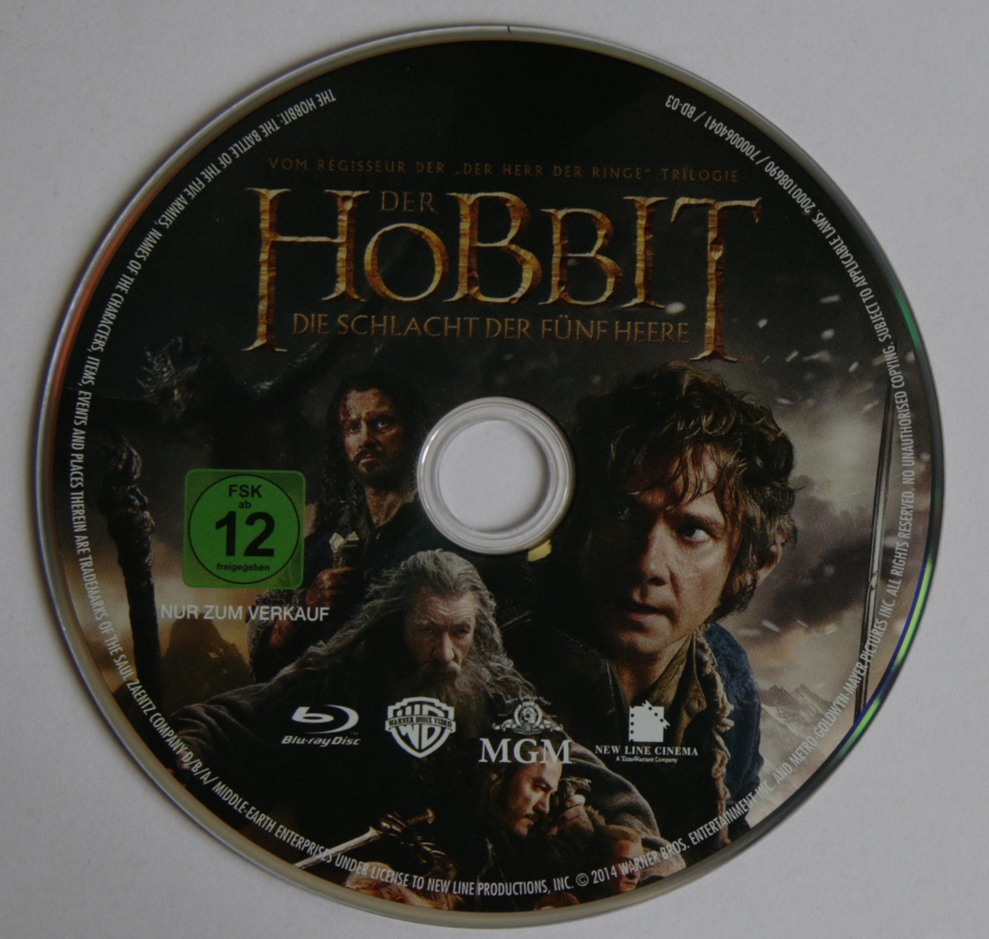 Der Hobbit Die Schlacht Der Fünf Heere Blu Ray Review Mein