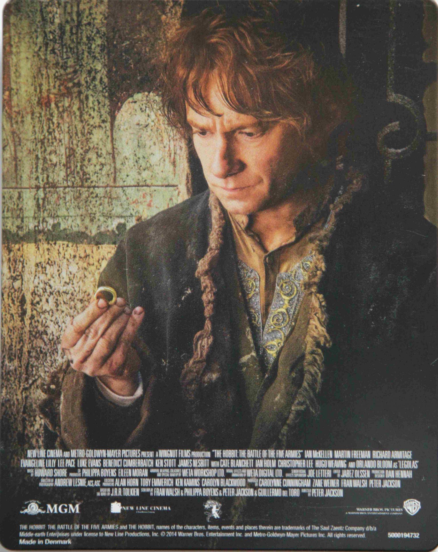 Der Hobbit Trilogie 3Back