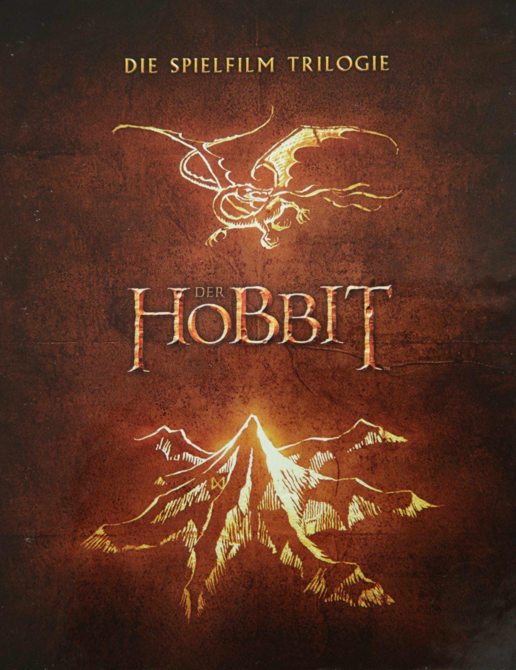 Der Hobbit Trilogie BoxFront
