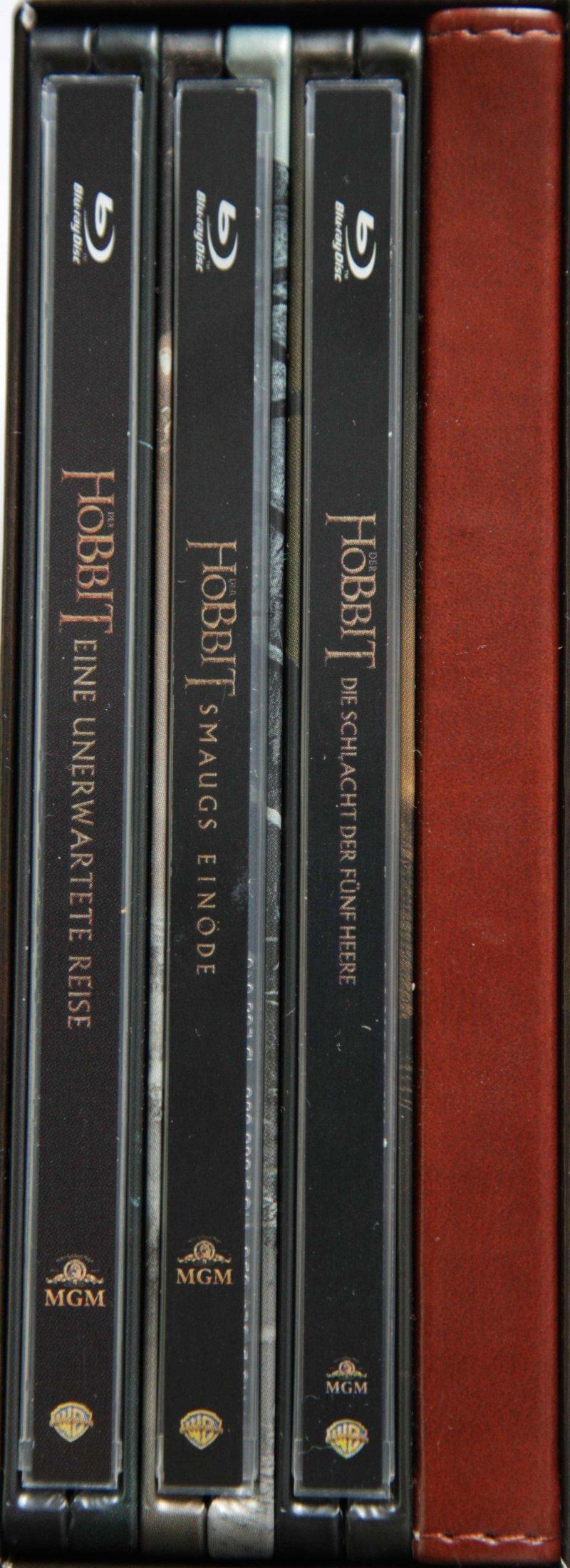 Der Hobbit Trilogie BoxVorderseite