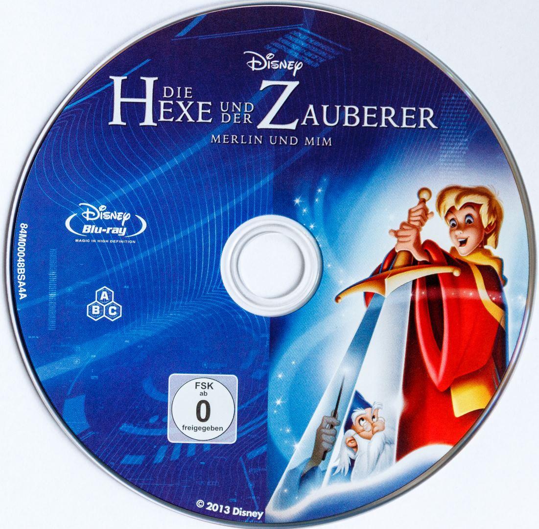 Die Hexe und der Zauberer Disk