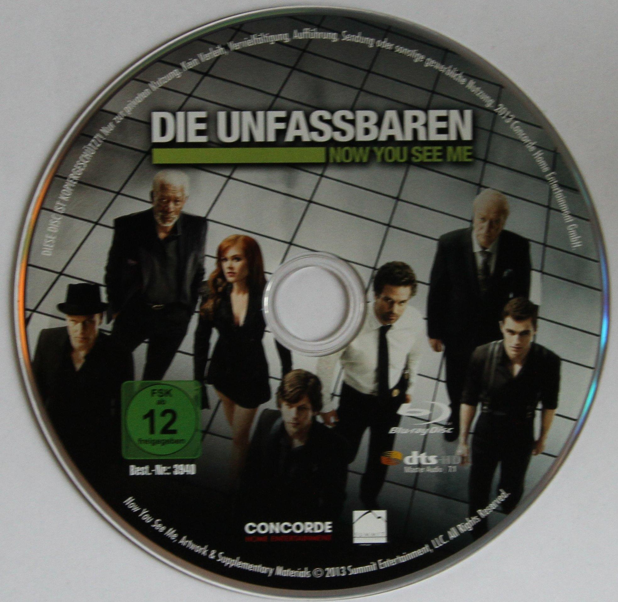 Die Unfassbaren Disk