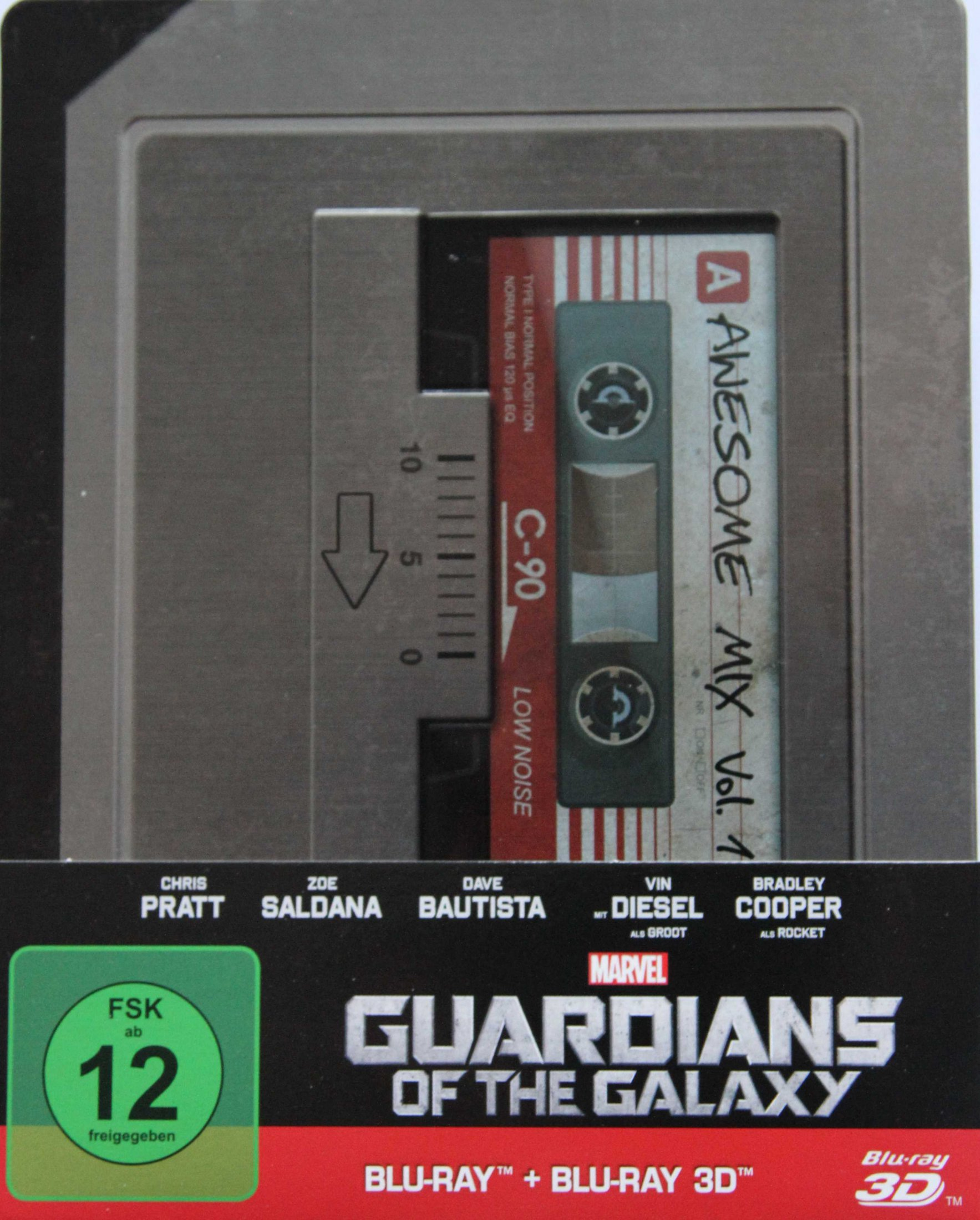 Guardians of the Galaxy Steelbook Front + hülle