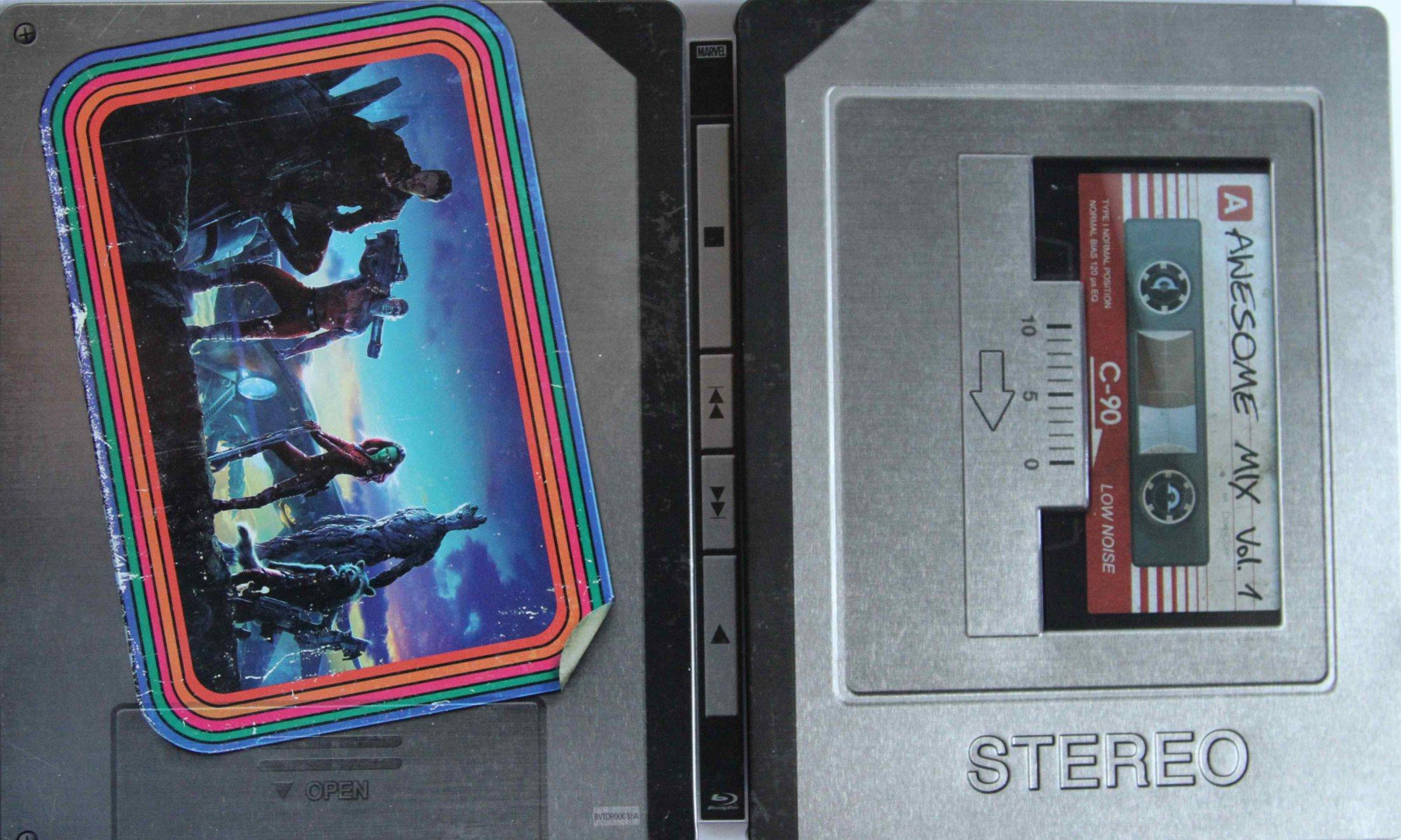 Guardians of the Galaxy Steelbook aussen komplett