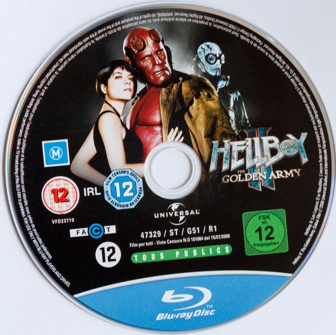 Hellboy II Steelbook Disk