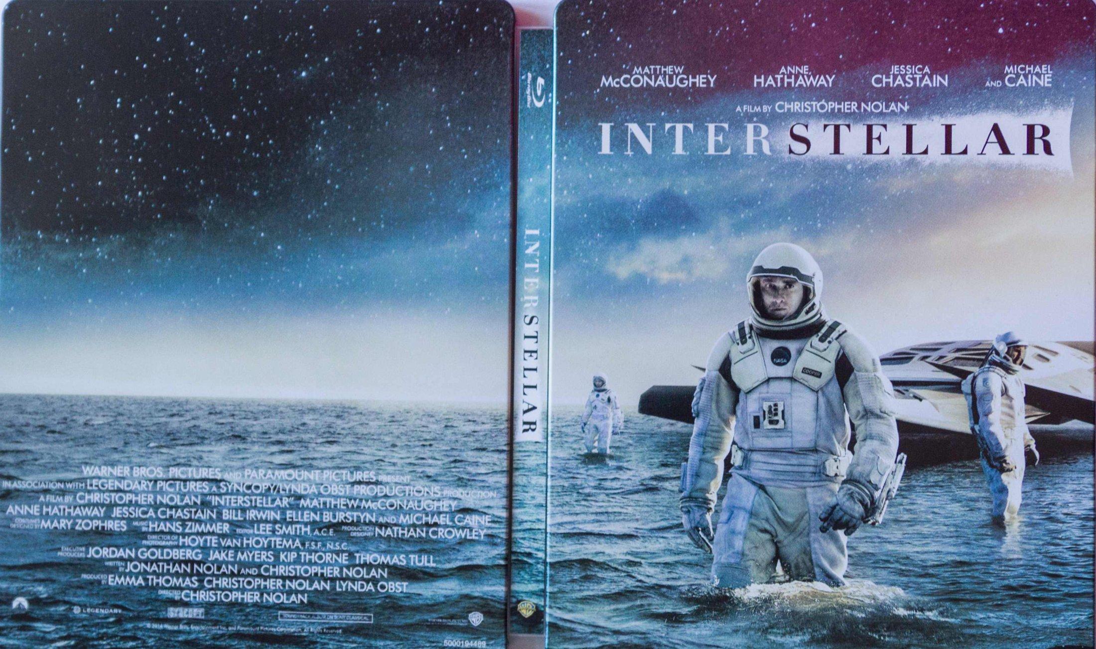 Interstellar Stellebook aussen komplett
