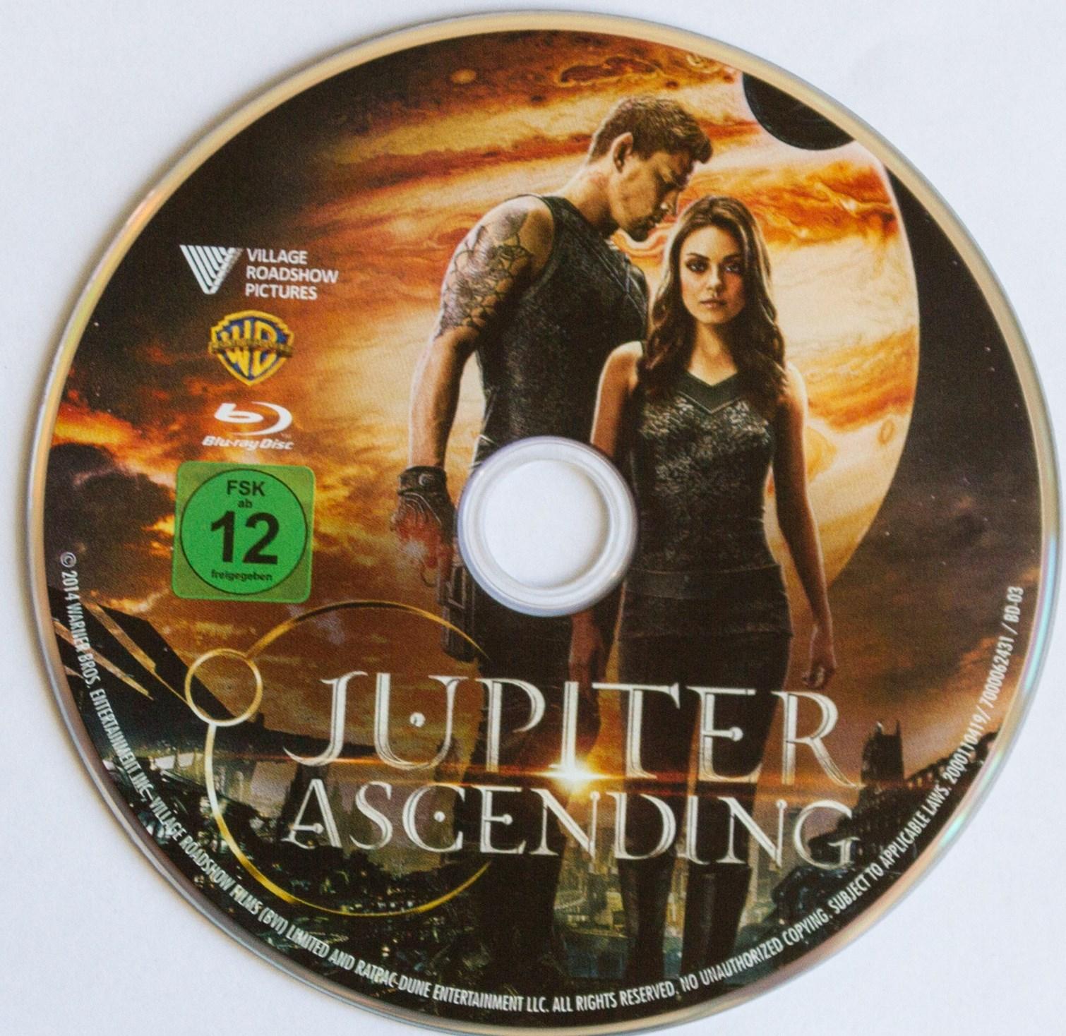Jupiter Ascending Disk
