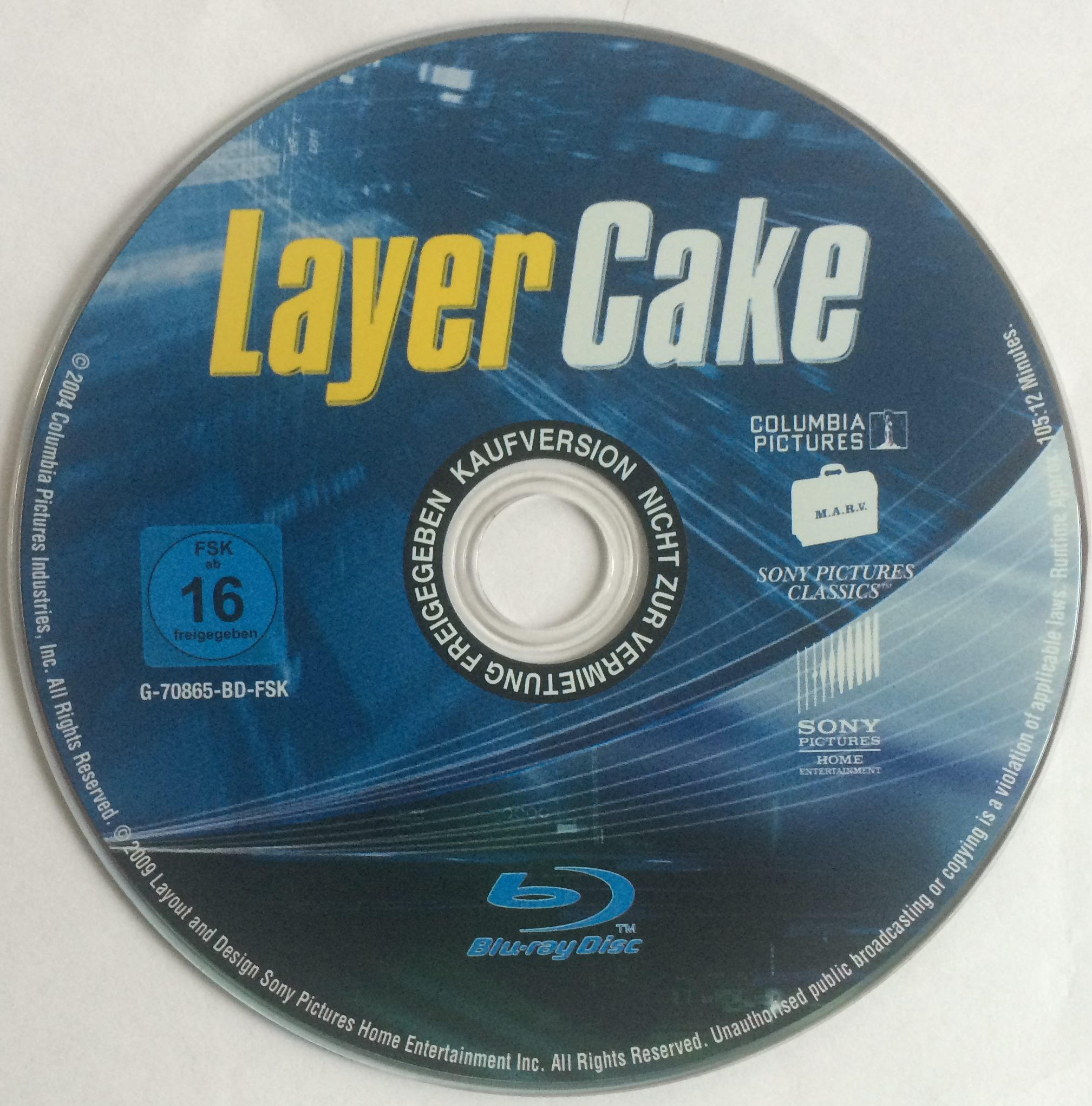 Layer Cake Disk