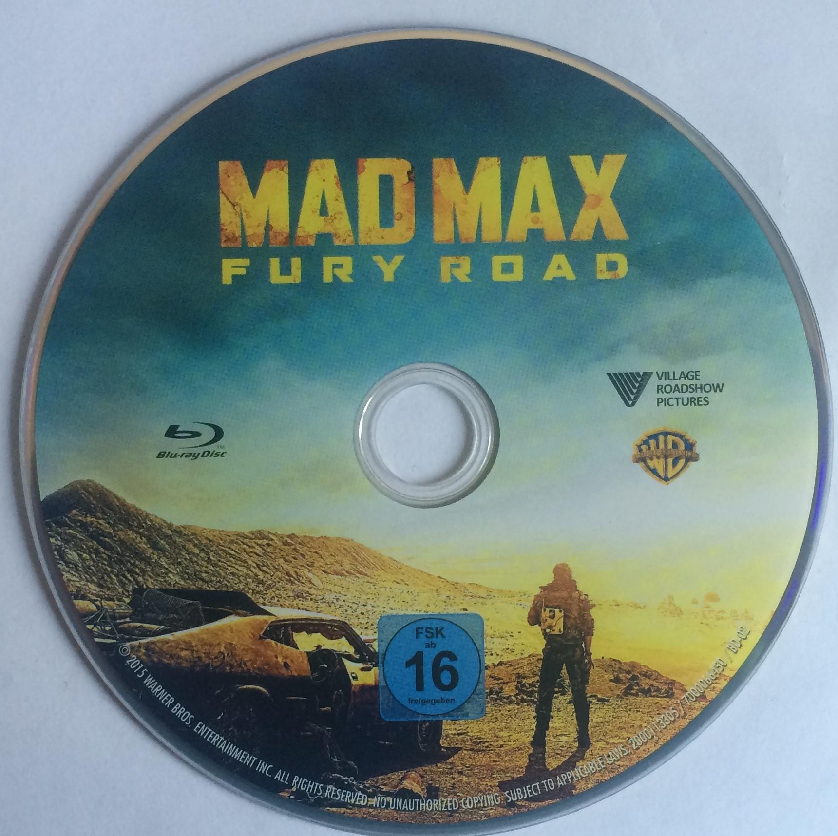 Mad Max Fury Road Disk
