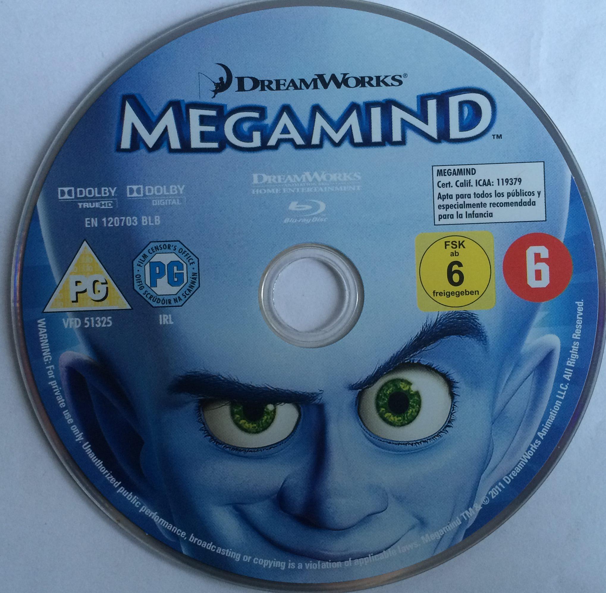 Megamind Disk
