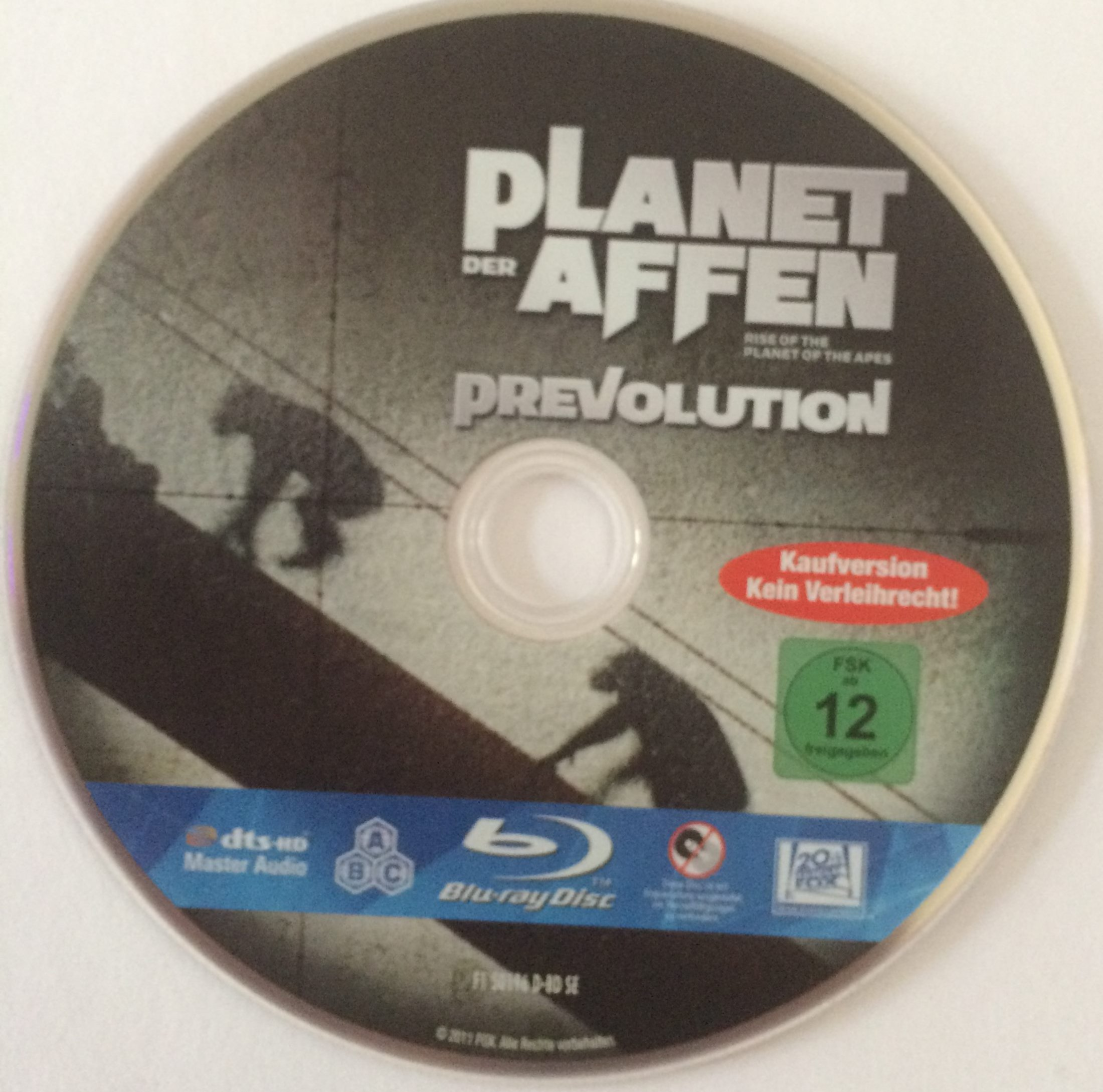 Planet der Affen -Prevolution Disk