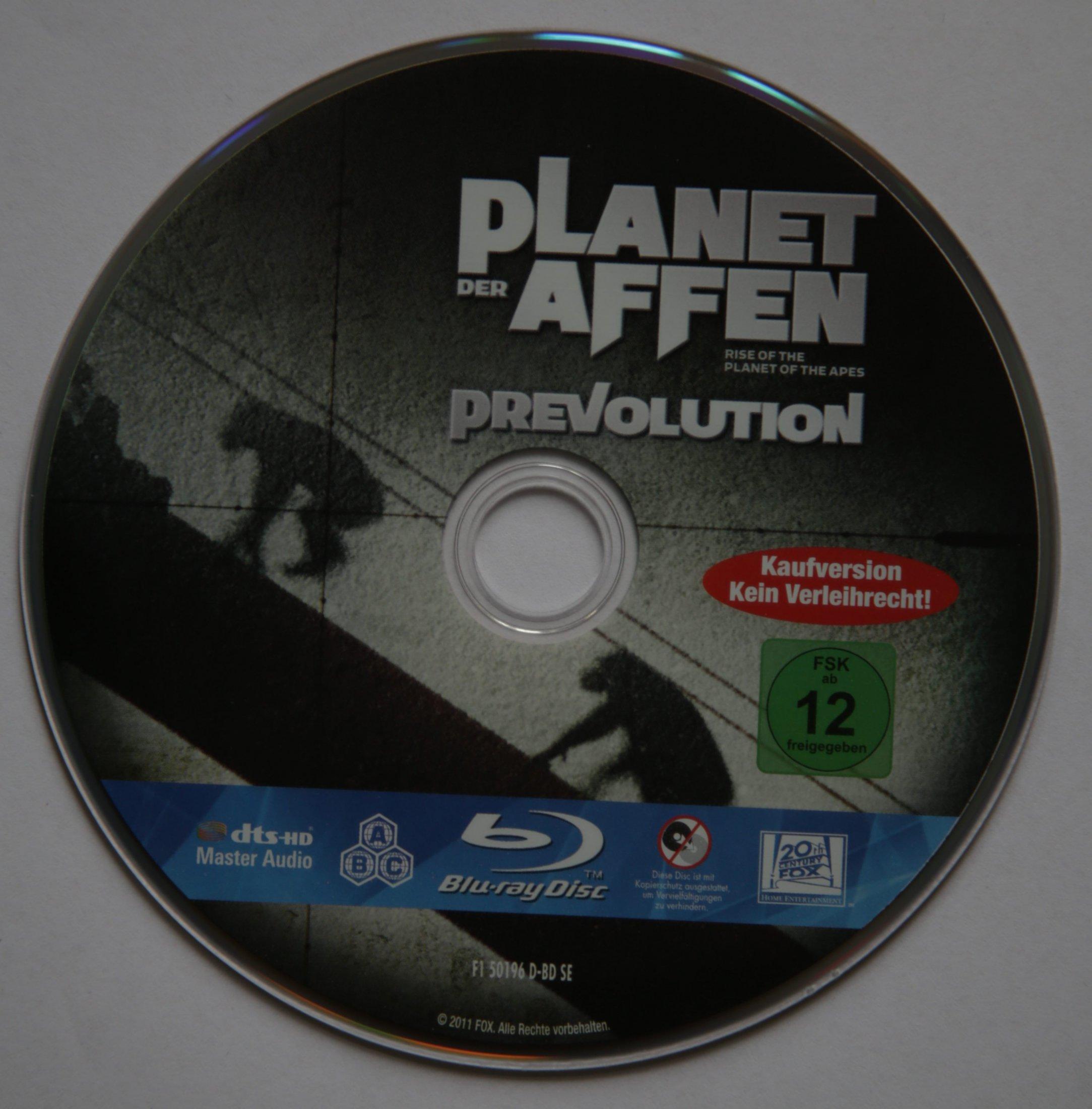 Planet der Affen - Prevolution Disk
