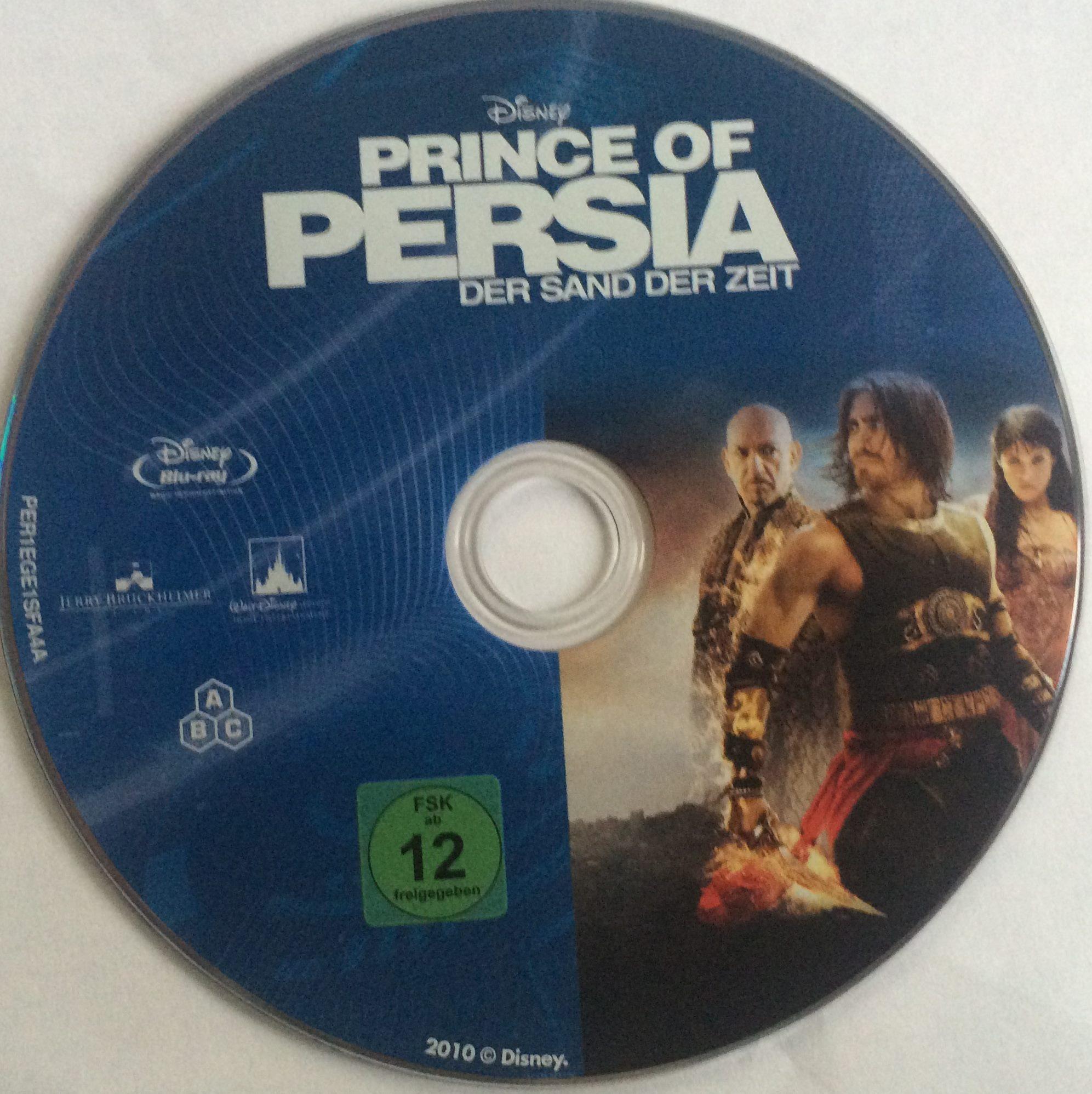 Prince of Persia Der Sand der Zeit Disk