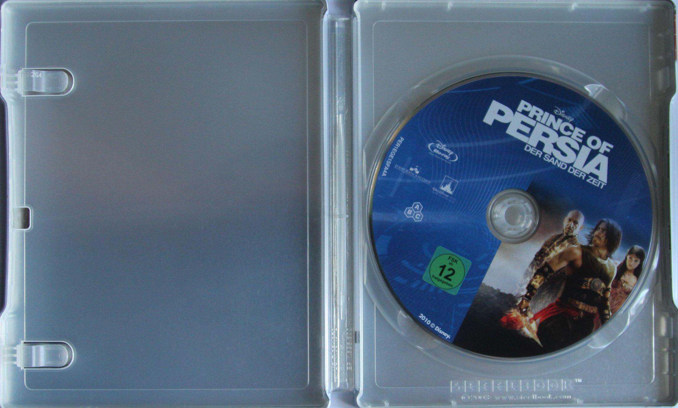 Prince of Persia Steelbook Innen mit disk