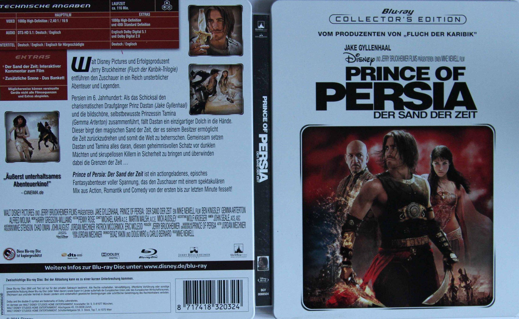 Prince of Persia Steelbook aussen