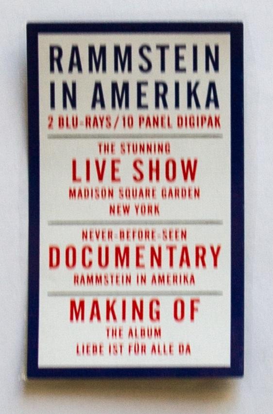 Rammstein in Amerika Sticker