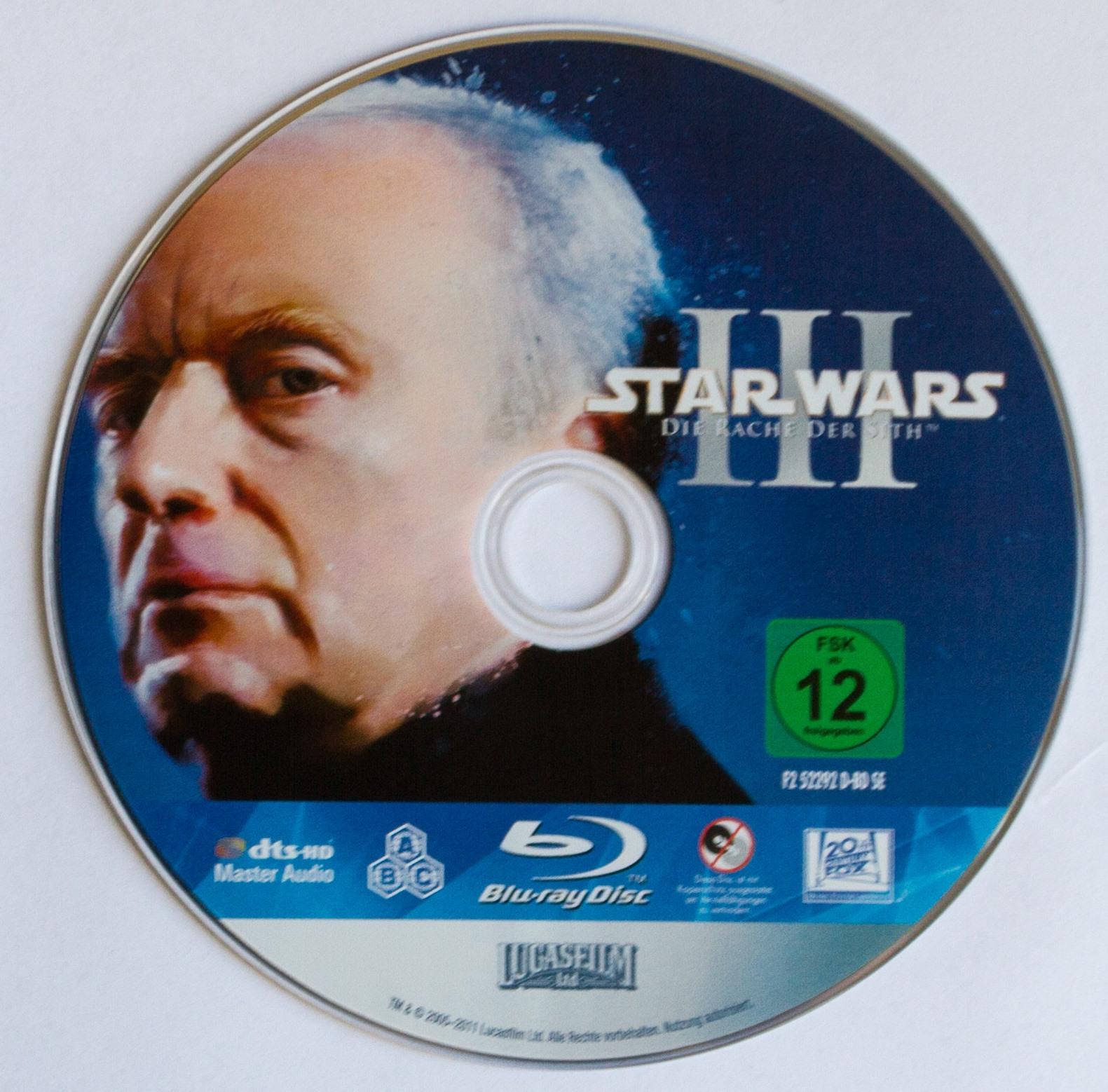 Star Wars III Disk