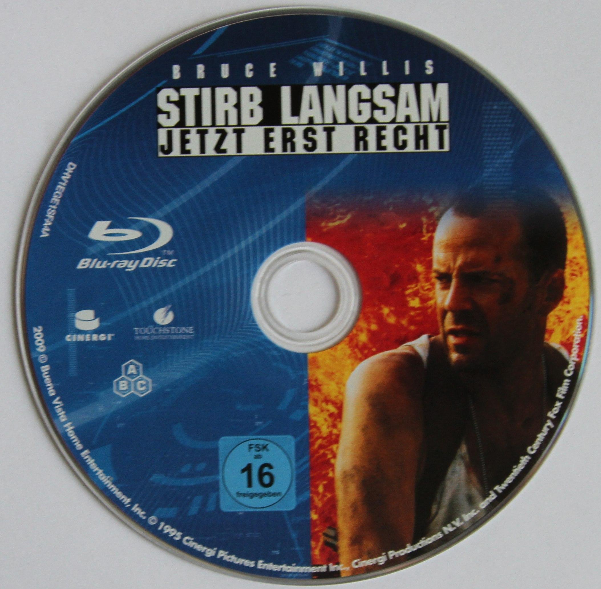 Stirb langsam 3 Disk