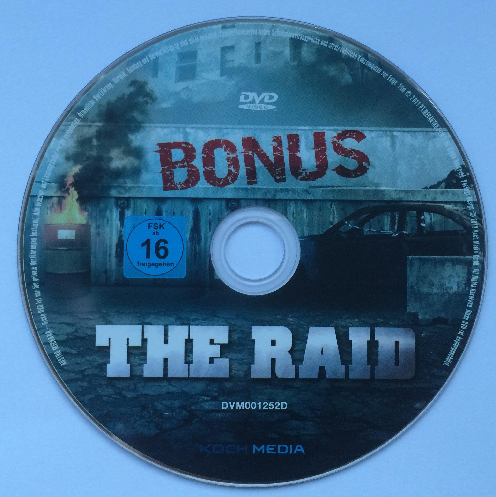 The Raid BonusDisk