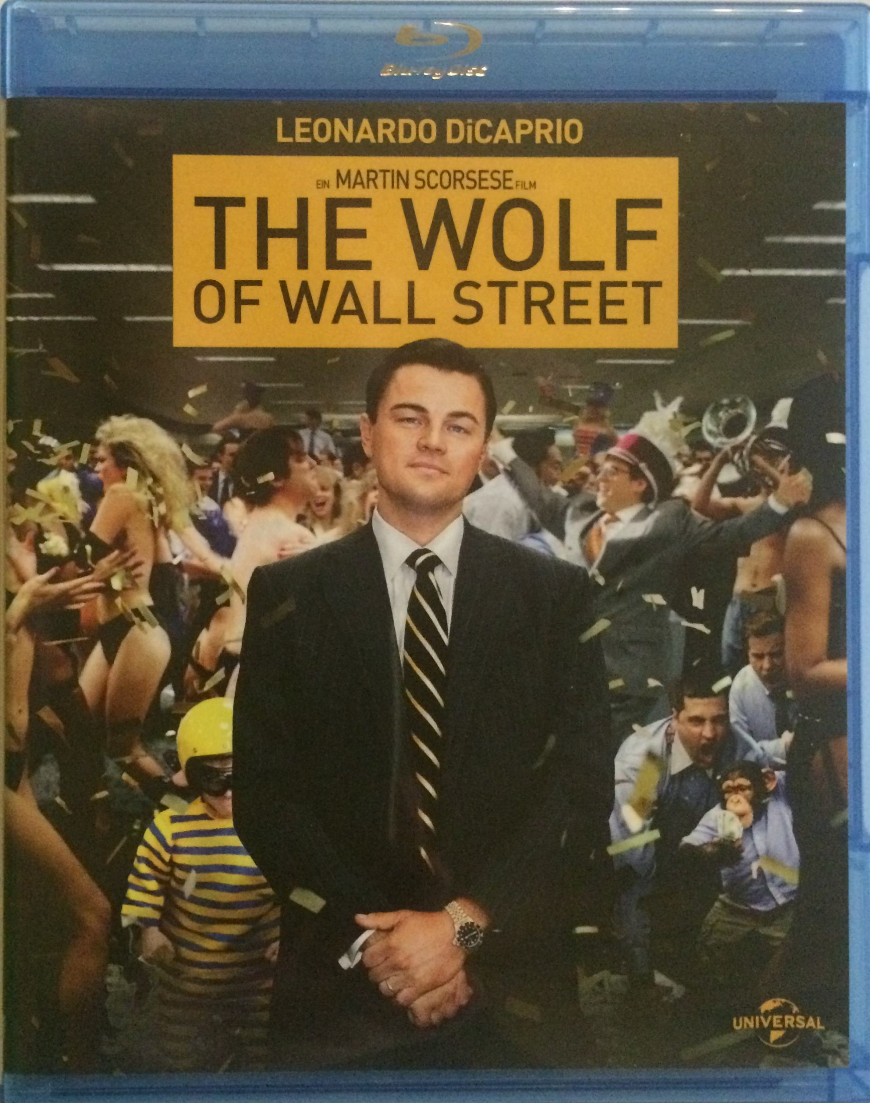 The Wolf of Wall Street Front