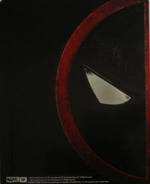 Deadpool Steelbook Back