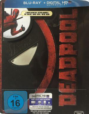 Deadpool Steelbook Front mit Pappe