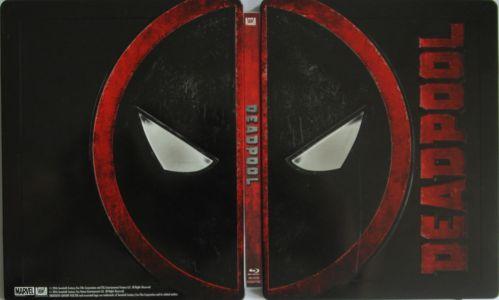 Deadpool Steelbook aussen komplett