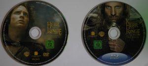 Der Herr der Ringe 3 Disks