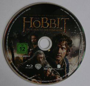 Der Hobbit - Die Schlacht der fünf Heere Disk