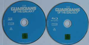 Guardians of the Galaxy Steelbook Disks