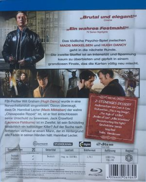 Hannibal Season 2 PappBack