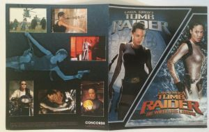 Lara Croft Collectors Booklet Außen