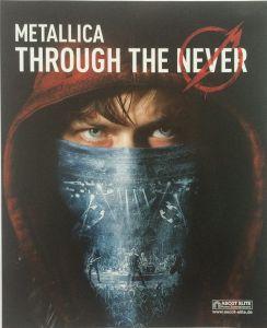 Metallica Through The Never Booklet 1