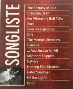Metallica Through The Never Booklet 2