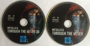 Metallica Through the Never Disk