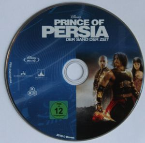 Prince of Persia Steelbook Disk