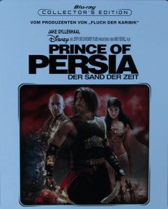 Prince of Persia Steelbook Front