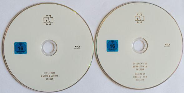 Rammstein in Amerika Disks