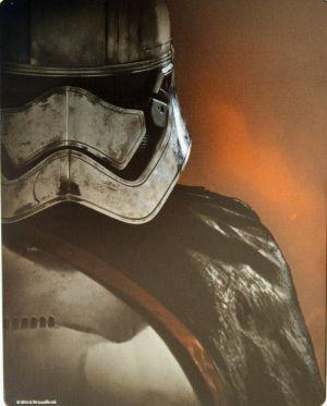 Star Wars 7 Steelbook Back