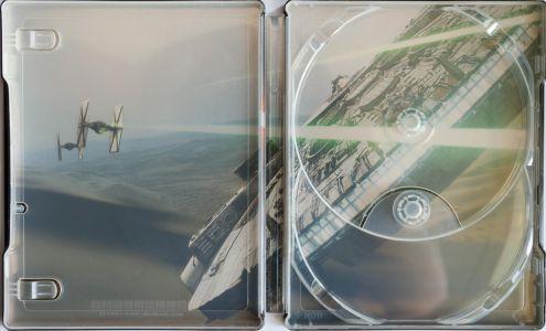 Star Wars 7 Steelbook innen