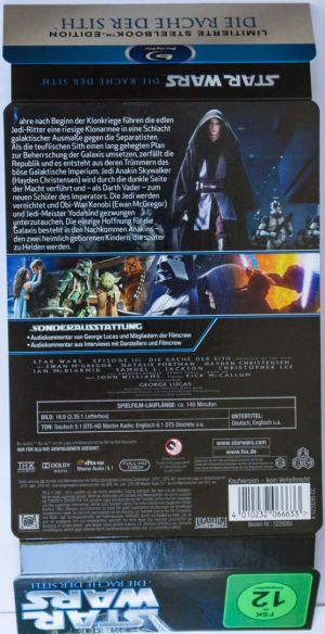 Star Wars Episode III Steelbook01