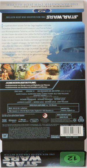 Star Wars Episode VI Steelbook01